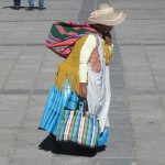 A traditionally dressed Aymaran woman in La Paz