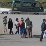 Street life in La Paz