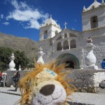Lewis visits one of the most preserved churches in Maca