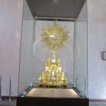 A beautiful golden monstrance
