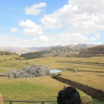 The Sacsayhuaman Fortress dedicated to the Inca Sun gods
