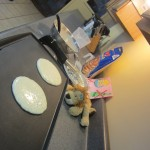 Lewis the Lion has more fresh pancakes in a different hostel