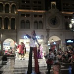 Typical Venetian style performers