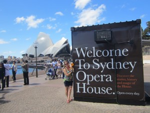 Welcome to Sydney Opera House!
