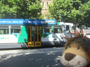 Melbourne has a great tram network