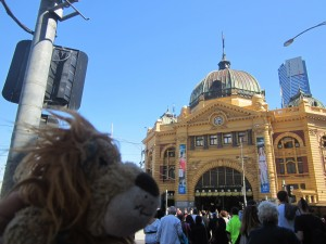 The Flinders Street Station Clocks - a Melbourne meeting point