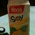 Soy milk is a popular soft drink in Malaysia