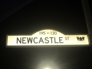 There's a Newcastle Street in Perth too!