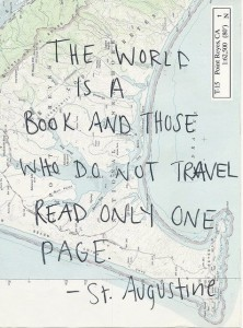 Travel often!