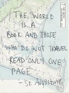 Travel often!