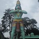 Hanuman, the Hindu monkey-god