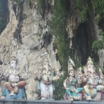 Ganesh - the Elephant god at the Batu Caves