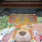 Lewis at the Sri Subramaniyar Swamy Temple Batu Caves