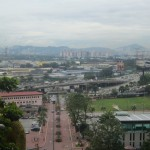 The view of KL from the top of the stairs