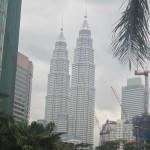 The symbol of Kuala Lumpur and Malaysia: the Petronas Towers