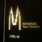 The highest viewing point in the Petronas Twin Towers