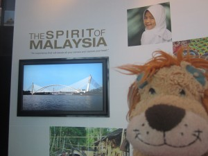 Lewis is certainly impressed by the 'Spirit of Malaysia'