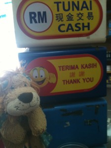 Terima Kasih -Thank you in Malay and Indonesian