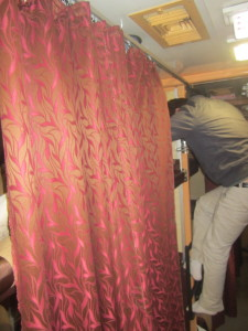 Step ladders are used to get into your compartment