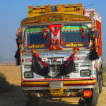 A typical Indian lorry