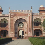 The entrance to the Baby Taj