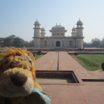 Another beautiful mausoleum in Agra