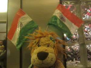 Perfect timing to celebrate India's National Day!
