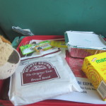 An Indian breakfast on the train