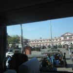 Jhansi Station - with the tuk-tuks waiting!