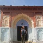 Traditional Alipura doorways