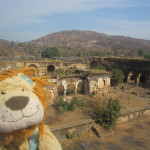 Lewis visits a ruined palace
