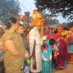 A traditional Hindu wedding ceremony in Varanasi