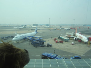 Lewis spots some of the low-cost Indian airlines