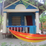 Lewis the Lion and his Palolem beach hut