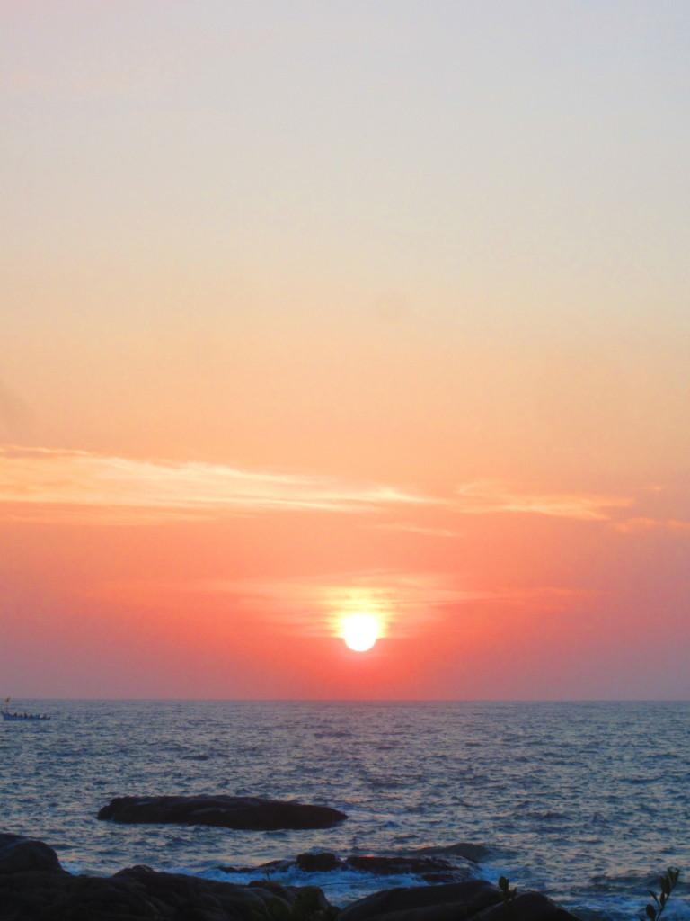 Sunset over Palolem