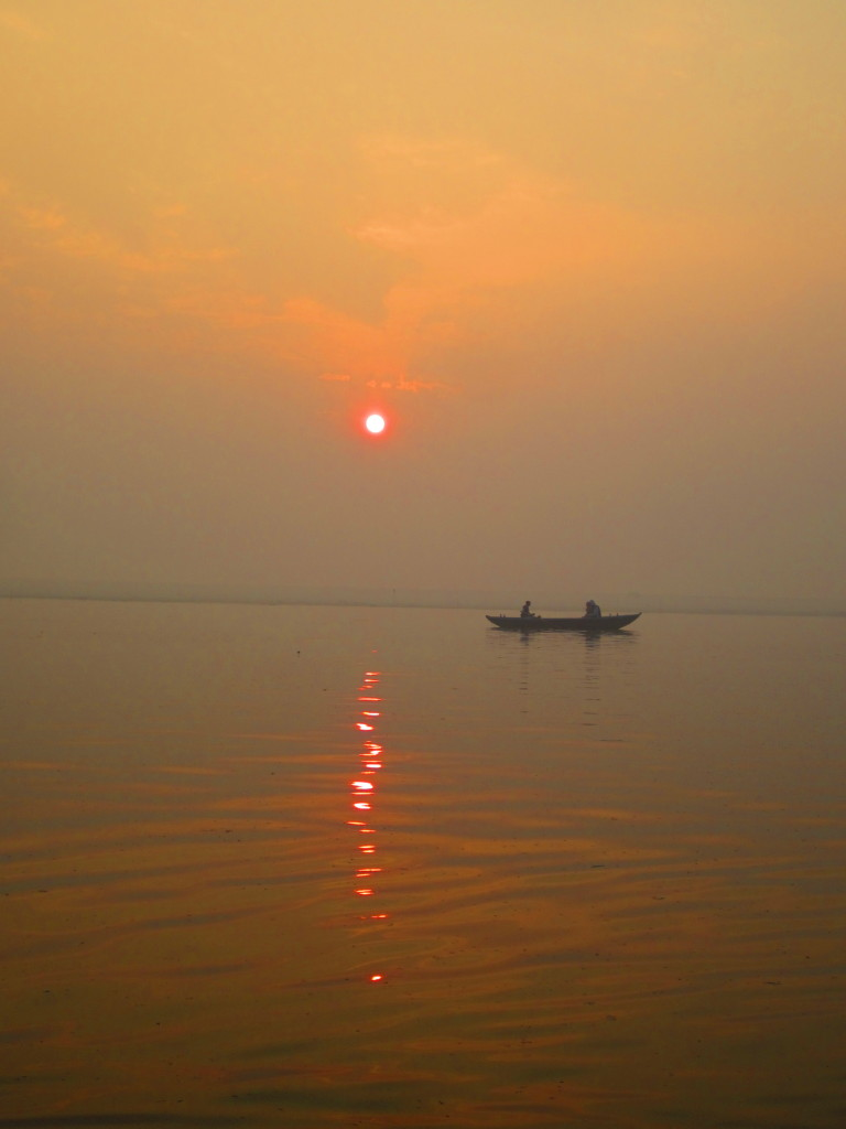 Sunrise over the River Ganga