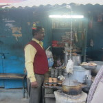Chai masala is served on the streets of Varansi
